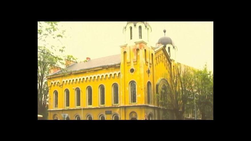 Video Opravená synagoga v Krnově je novým centrem židovské kultury.