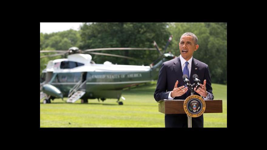 Video Obama: USA do Iráku vojáky nepošlou