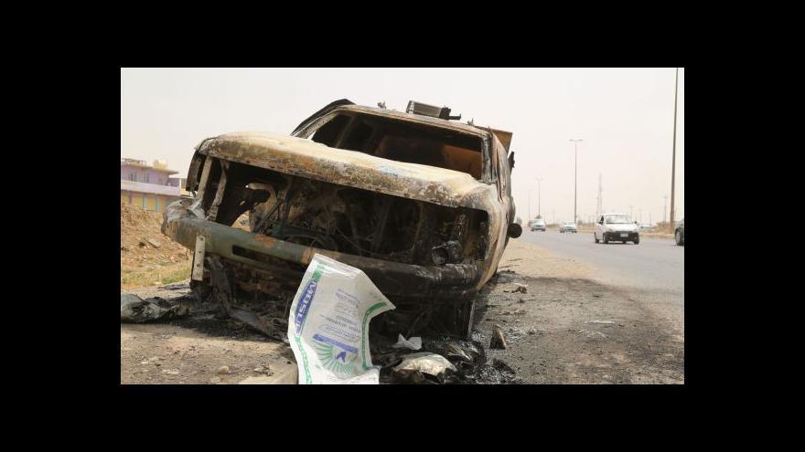Video MZV varuje před cestami do Iráku