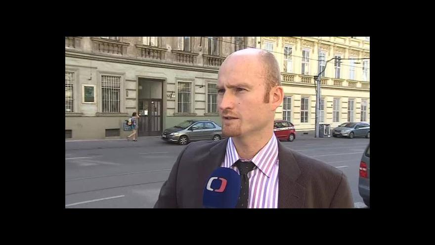 Video O rozhodnutí soudu hovoří žalobce z NSZ Václav Kotas