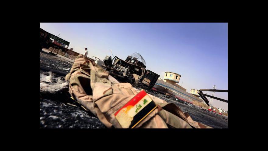 Video Islámští radikálové v Iráku dál postupují na Bagdád