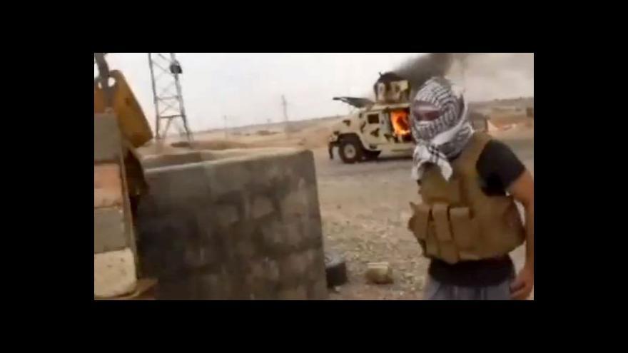Video Horizont 24 o postupu radikálů z ISIL v Iráku