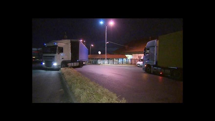 Video Pro kamiony není dostatek parkovacích míst