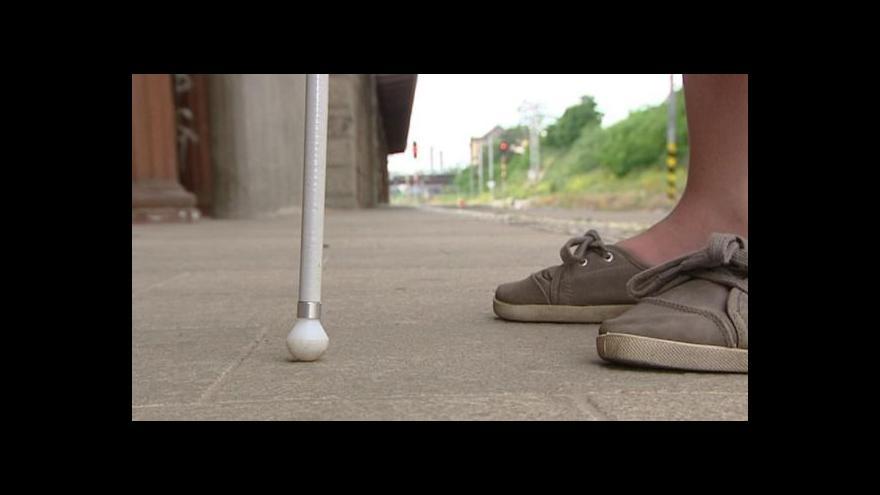 Video Instruktoři zrakově postižených se školí v Plzni