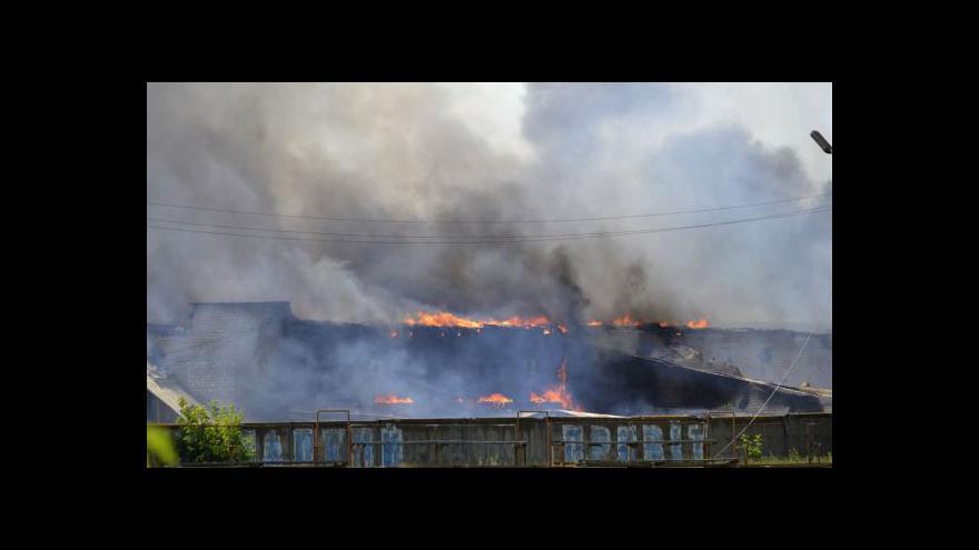 Video V Lysyčansku vyhlásili lidovou republiku