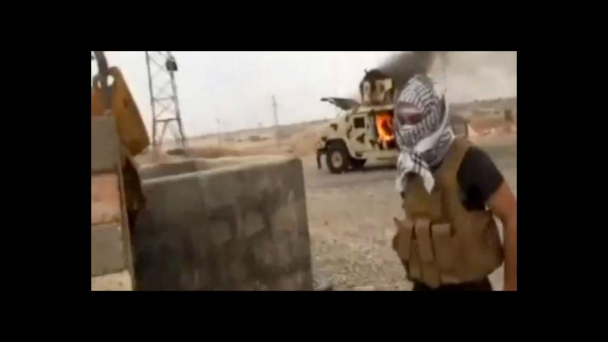 Video Szántó: Irácká armáda nemá situaci pod kontrolou