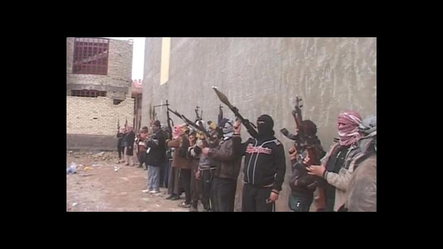 Video Radikální islamisté postupují na Bagdád