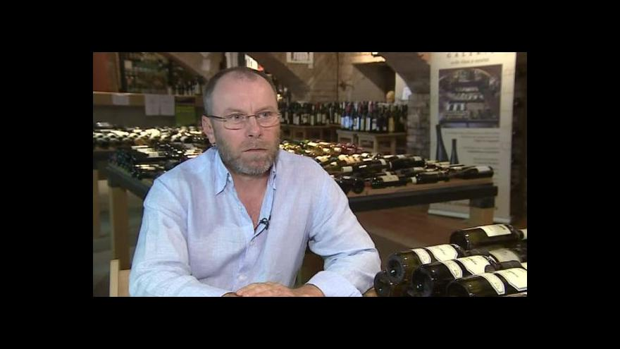 Video Tibor Nyitray o černém trhu s vínem
