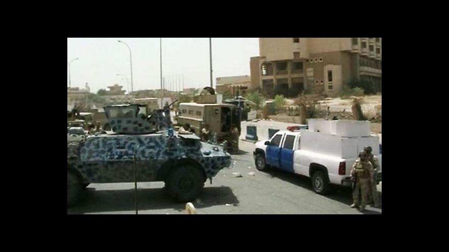 Video Islamisté v Iráku dobývají důležité oblasti