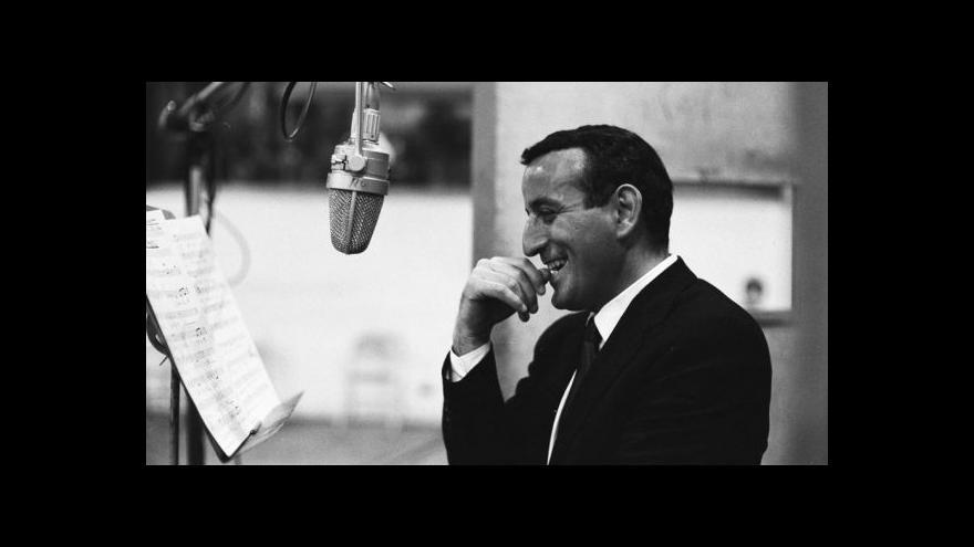 Video Tony Bennett bude koncertovat v Praze