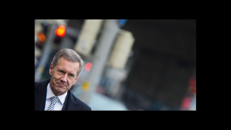 Video Exprezident Wulff lituje, že rezignoval na funkci