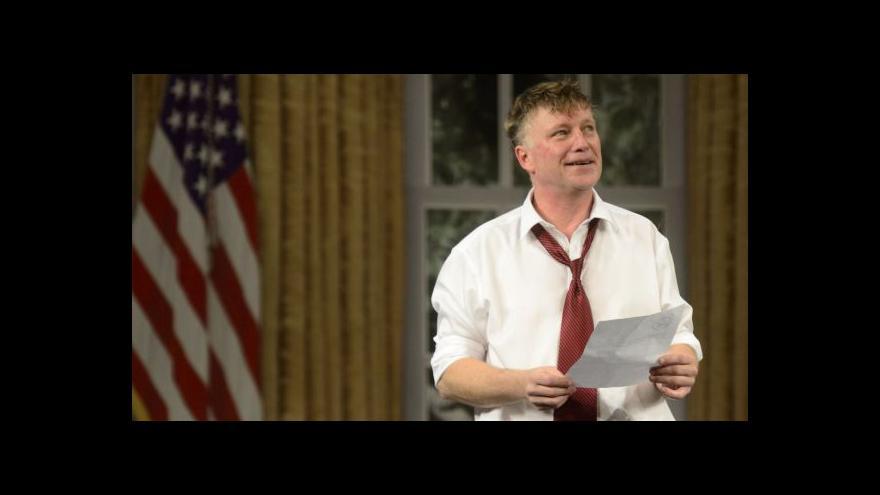Video Michal Dlouhý je prezidentem USA