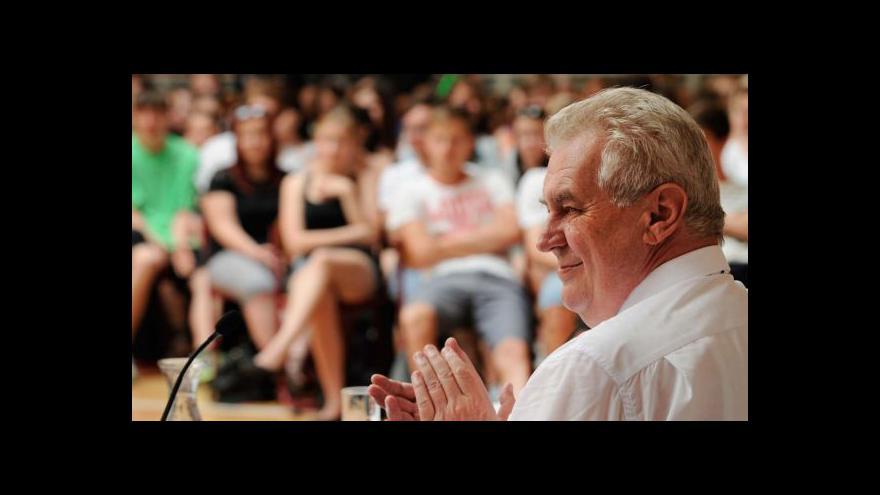 Video Zeman pokračuje v cestě po Libereckém kraji