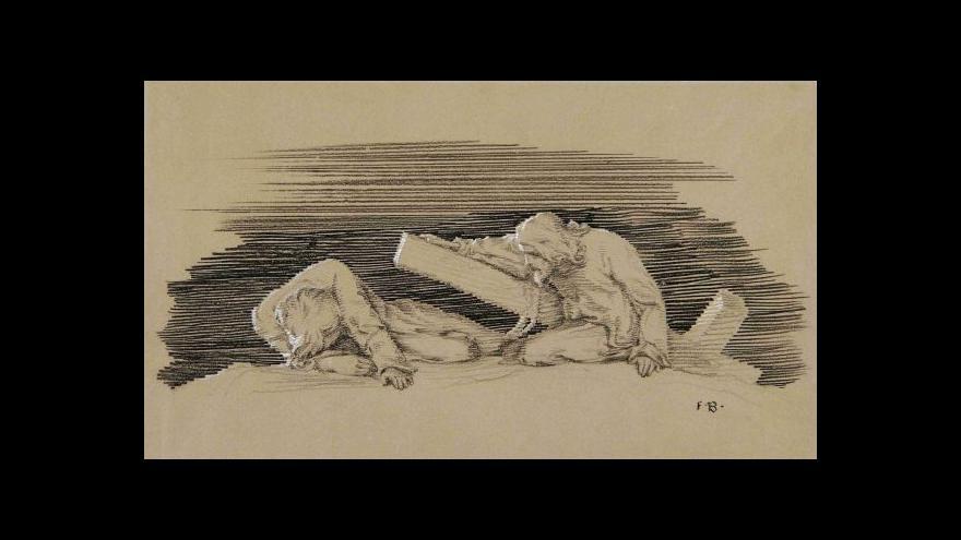 Video Výstava grafik Františka Bílka v Domě umění