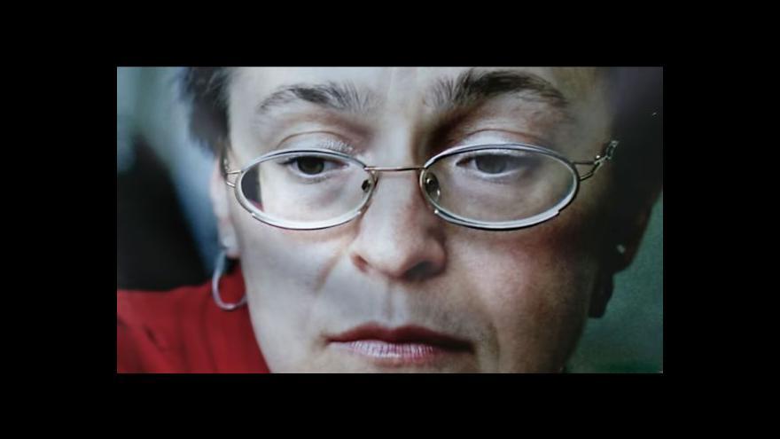 Video Objednatel vraždy Politkovské zůstává neznámý