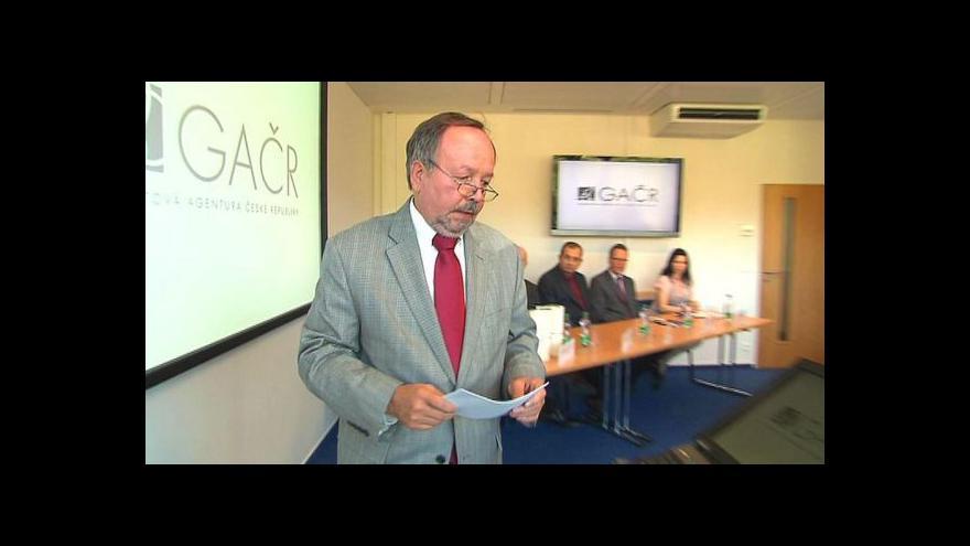 Video Petr Matějů skončil v čele Grantové agentury