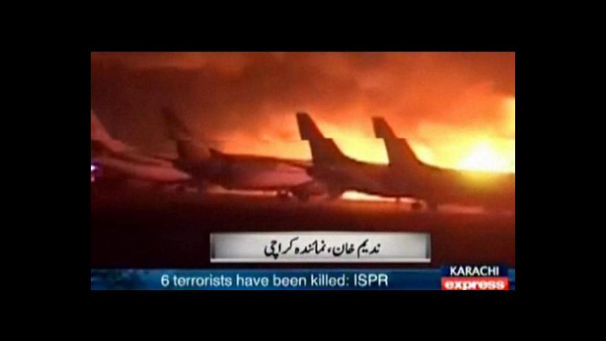 Video Horizont: Taliban hrozí po Karáčí dalšími útoky