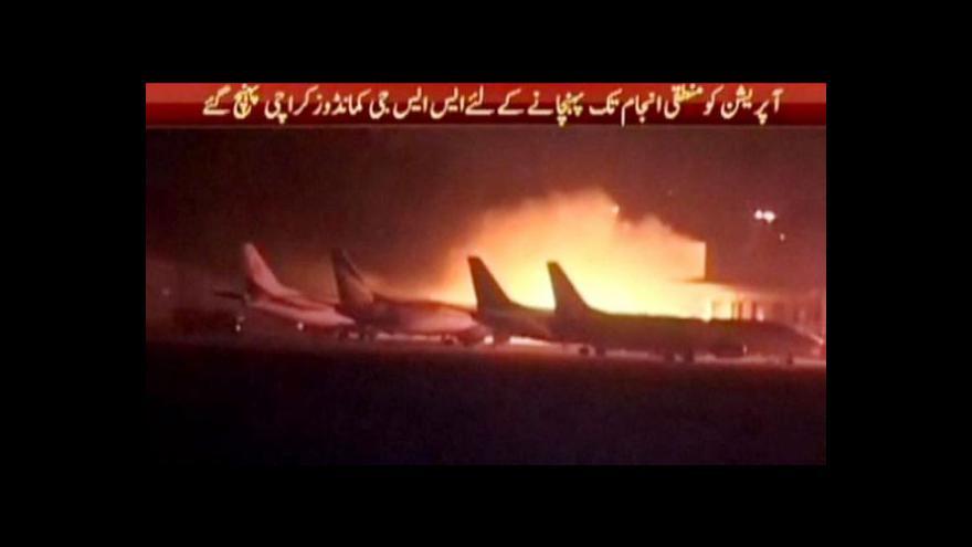 Video Útok na mezinárodní letiště v Karáčí