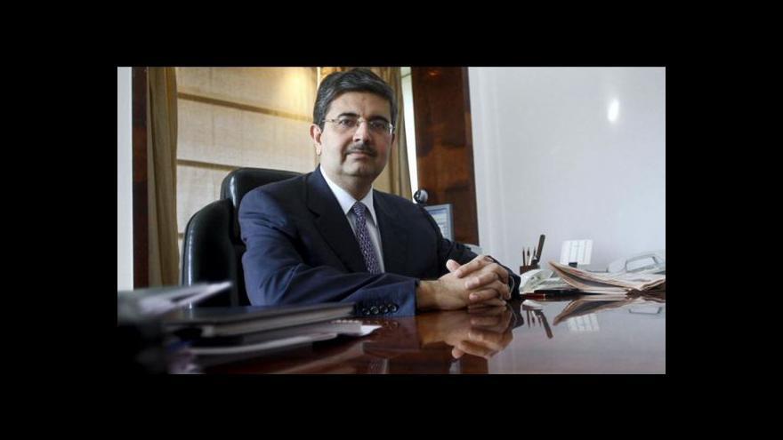 Video Světovým podnikatelem roku 2014 se stal indický bankéř