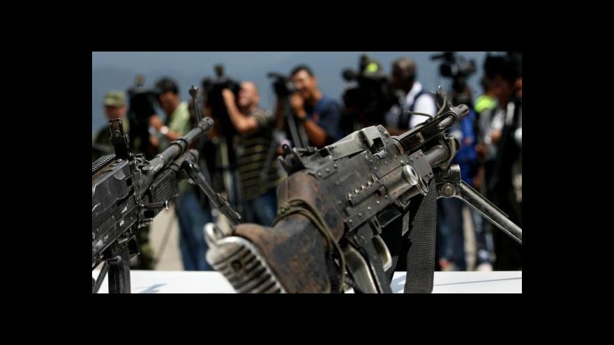 Video Kolumbijské hnutí FARC vyhlásilo dočasné příměří