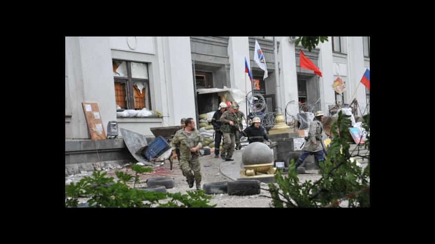 Video Ruský zástupce by měl přijet vyjednávat do Kyjeva