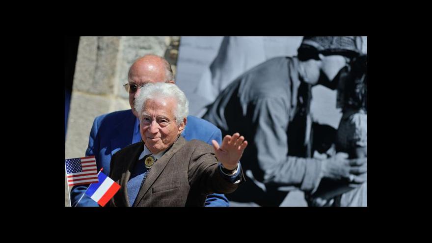Video Tony Vaccaro měl v Normandii foťák místo zbraně
