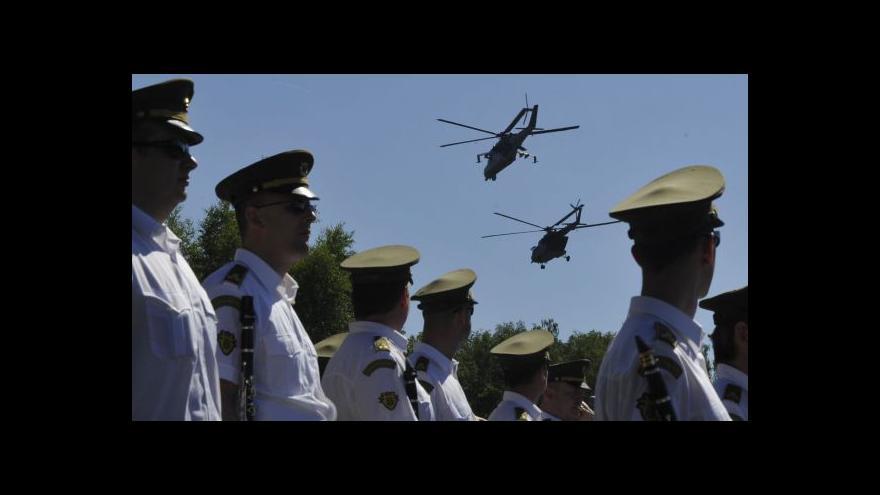 Video Sobotka: Přestaneme snižovat armádní rozpočet