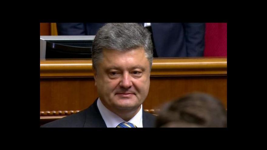 Video Porošenko: Nabízím amnestii všem, kteří nemají na rukou krev