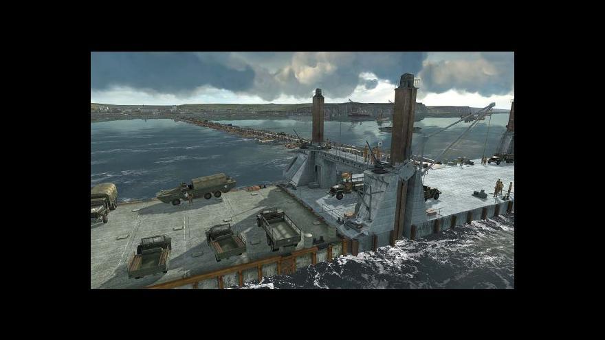 Video Den D - vizualizace: Podívejte se, jak se spojenci vylodili v Normandii