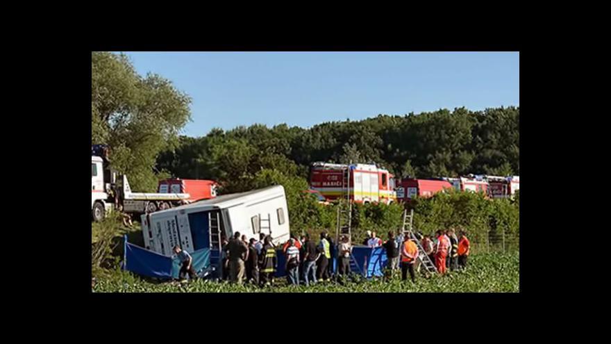 Video David Miřejovský k havárii autobusu na Slovensku