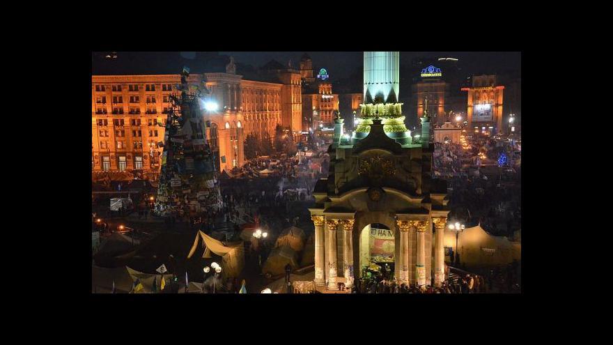 Video Lidé Majdanu se po pražském léčení vracejí domů