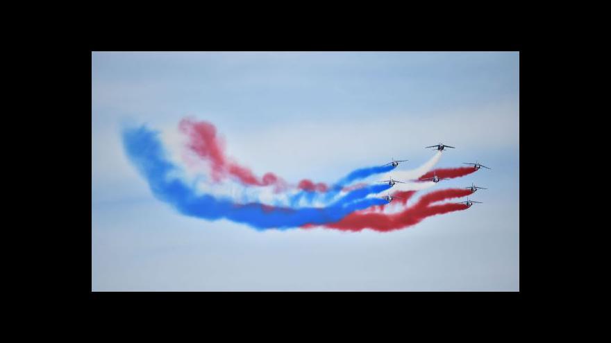 Video Petr Zavadil o oslavách vylodění v Normandii