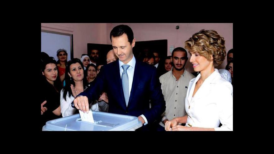 Video Osobnost Horizontu: Bašár Asad se stále drží u moci