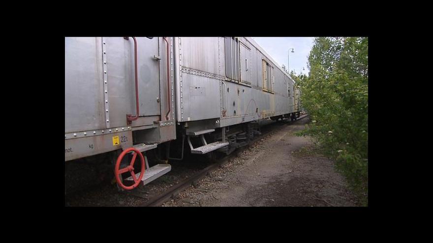Video Odstavený a vykradený – Protidrogový vlak marně čeká na peníze