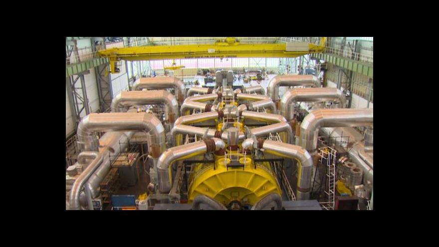 Video V Jaderné elektrárně Temelín začali modernizovat reaktorové bloky
