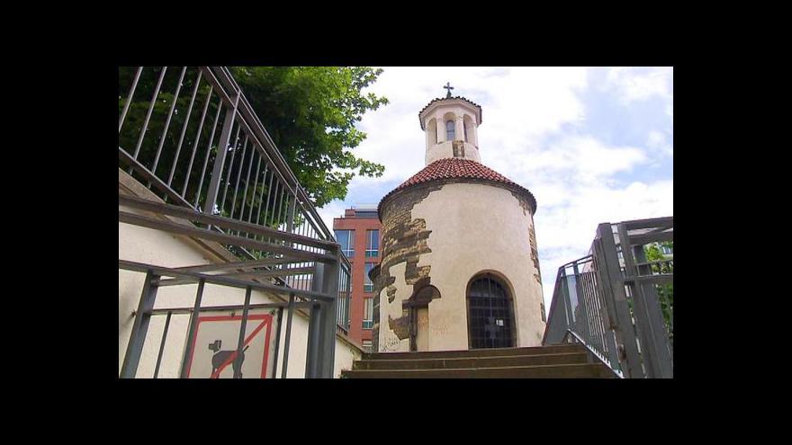 Video Robert Hurt a Tomáš Holub o předání rotundy