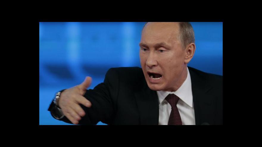 Video Putin bude na návštěvě Francie jednat o Ukrajině