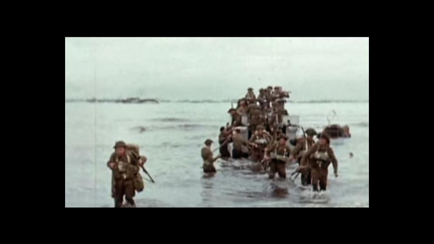 Video 70 let od vylodění Spojenců v Normandii