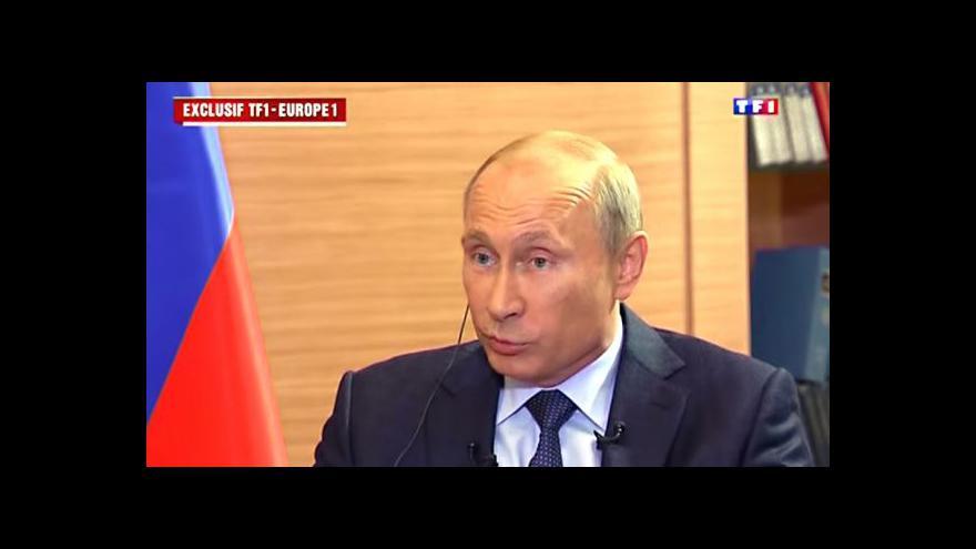 Video Putin k Rusům na Ukrajině: Ať USA předloží důkazy