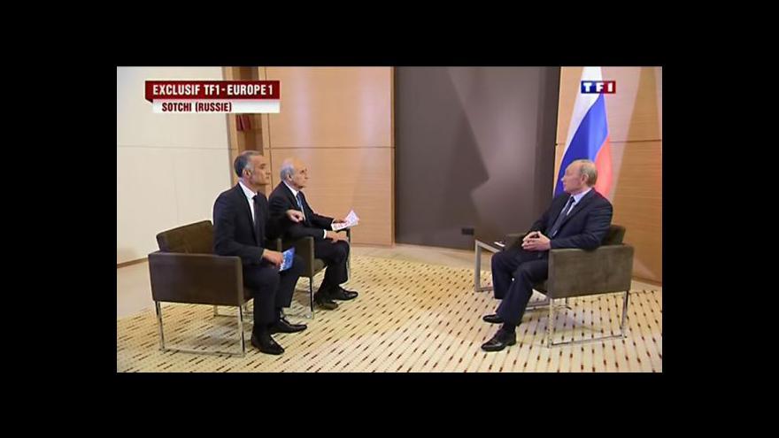 Video Putin zopakoval, že vojáky na Ukrajinu neposlal