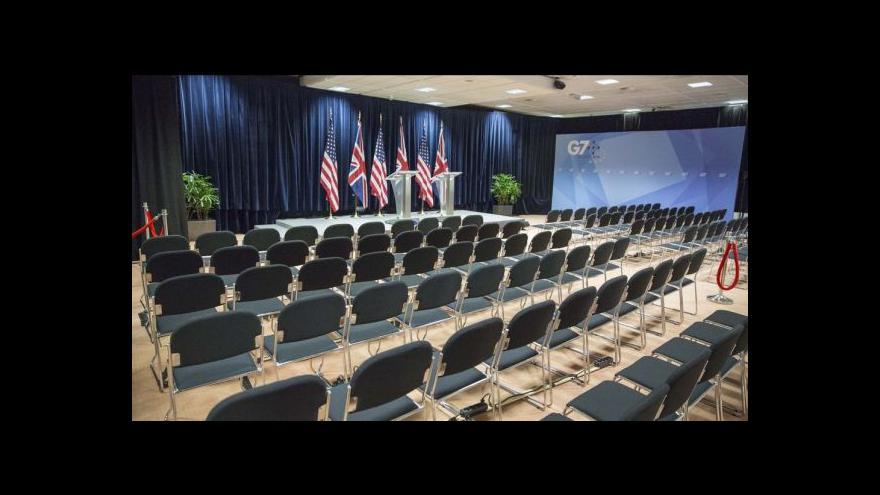 Video Summit G7: Bez Ruska, ale hlavně o něm