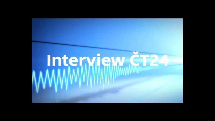 Video Pavel Rychetský hostem Interview ČT24