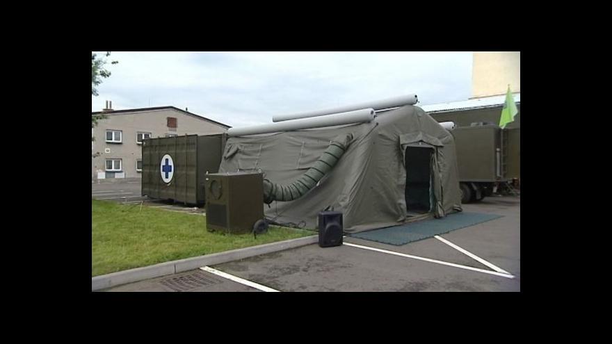 Video Armáda má mobilní veterinární kliniku