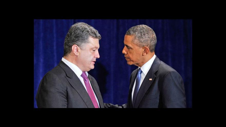 Video Dvořák: Setkání Obamy s Porošenkem má hlavně symbolický význam