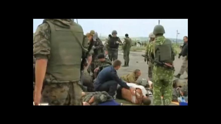 Video Na Ukrajině vypukly nejtvrdší boje od začátku krize
