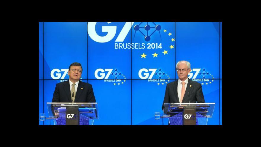 Video Události, komentáře: G7 jedná o Ukrajině