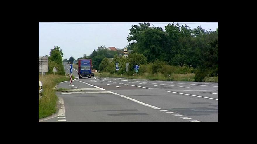 Video Česku chybí kvalitní silniční spojení do Rakouska