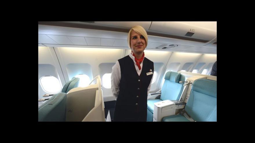Video Reportáž: ČSA chystá propouštění stevardů