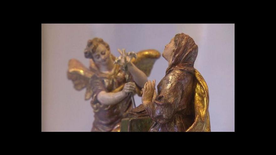 Video Biskupství královéhradecké vystavuje církevní poklady