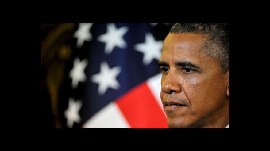 Video Obama: Posílíme svou vojenskou přítomnost v Evropě